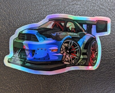 Holographic Mini Mustang