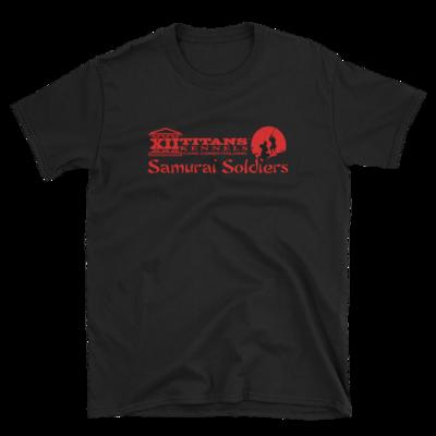 Limited Edition Samurai Black Short-Sleeve Unisex T-Shirt   2019 Litter D