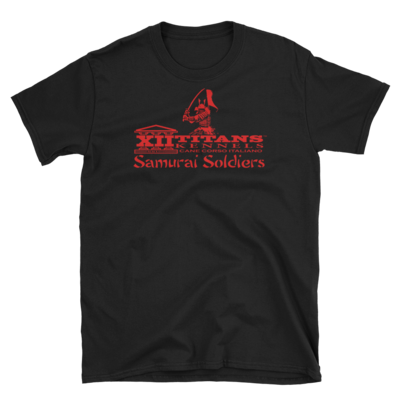 Limited Edition Samurai Black Short-Sleeve Unisex T-Shirt (Version 2)