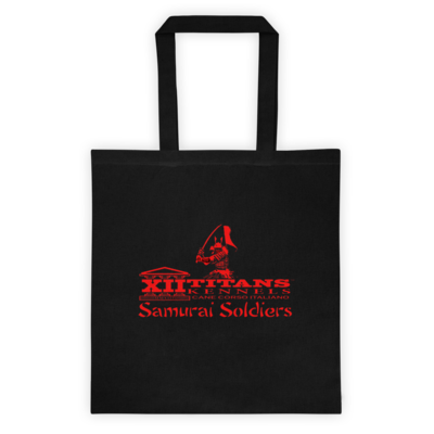 Limited Edition Samurai Soldiers Tote