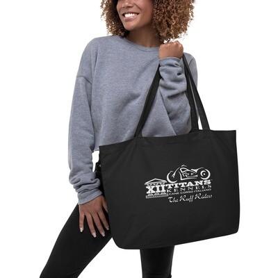 Large organic tote bag   2020 Litter K - Ruff Riders