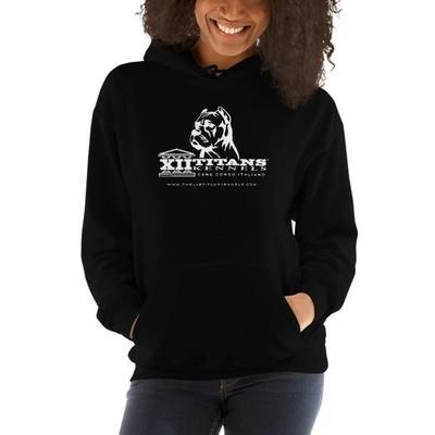 Classic Black Hooded Sweatshirt