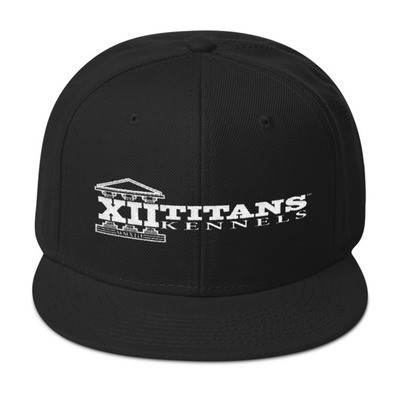 Black Snapback Ball Cap