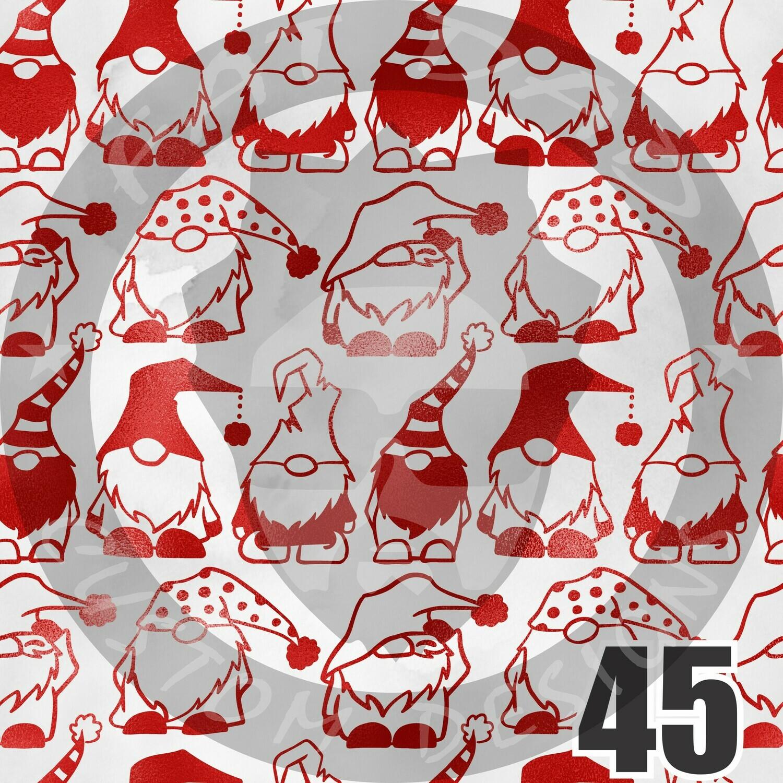 Christmas Themed Printed Heat Transfer Vinyl