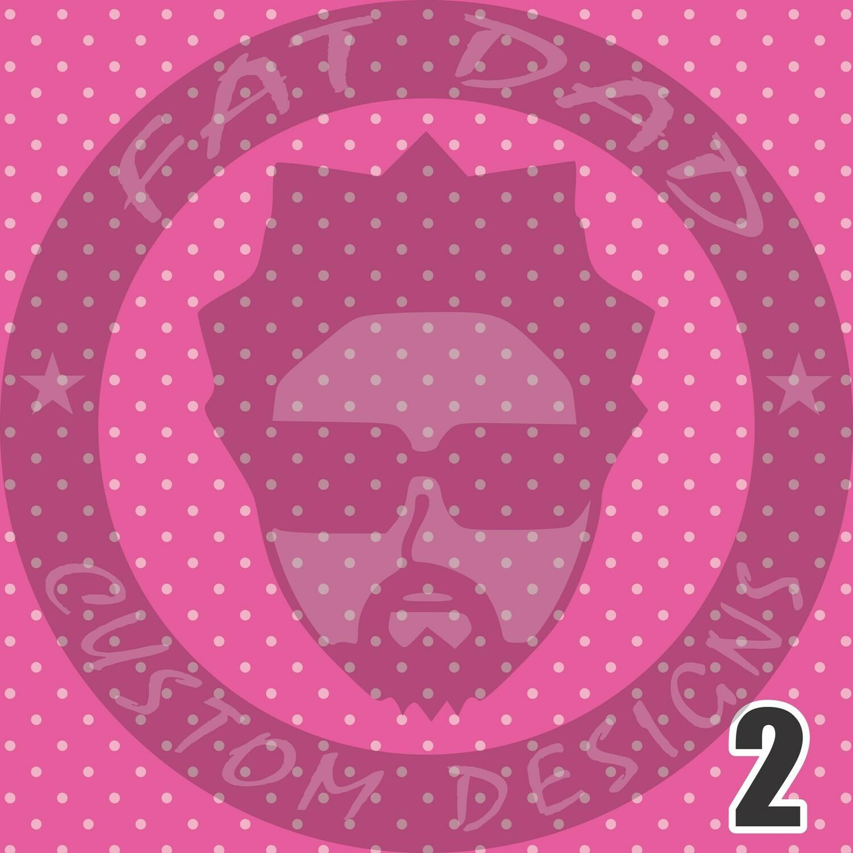 Breast Cancer Theme Printed Adhesive Craft Vinyl