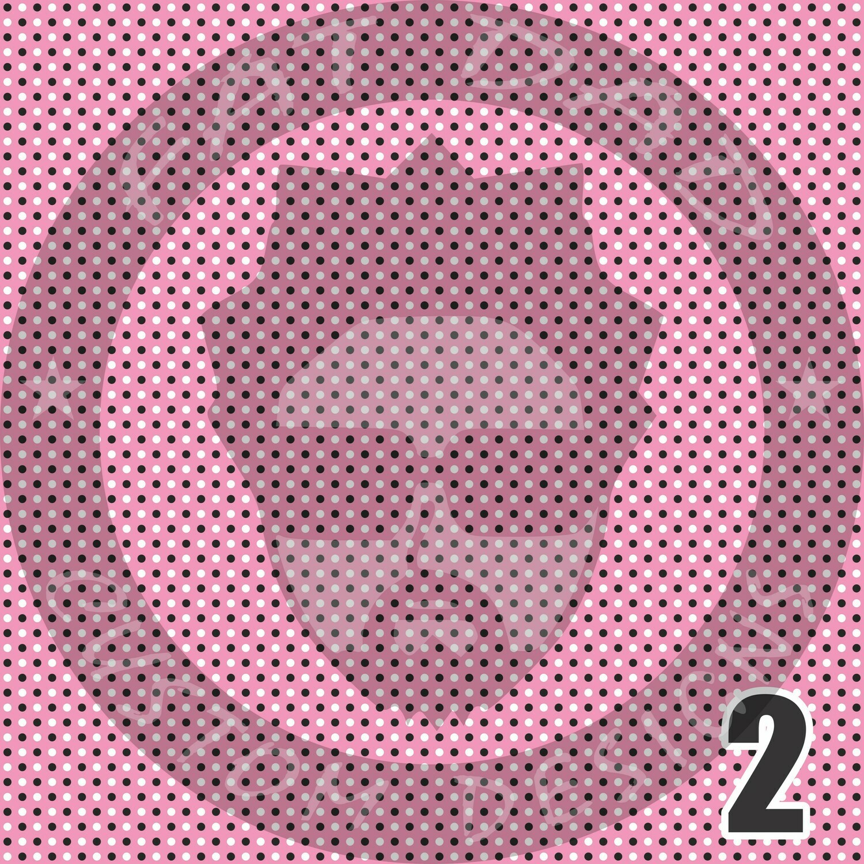 Pink and Purple Bandana Theme Printed Heat Transfer Vinyl (HTV)