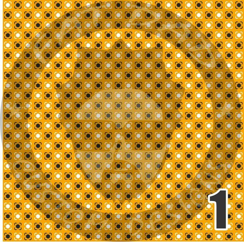 Gold Bandana Theme Adhesive Craft Vinyl