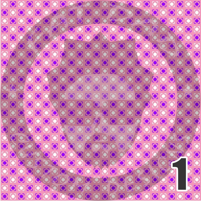 Pink and Purple Bandana Theme HTV