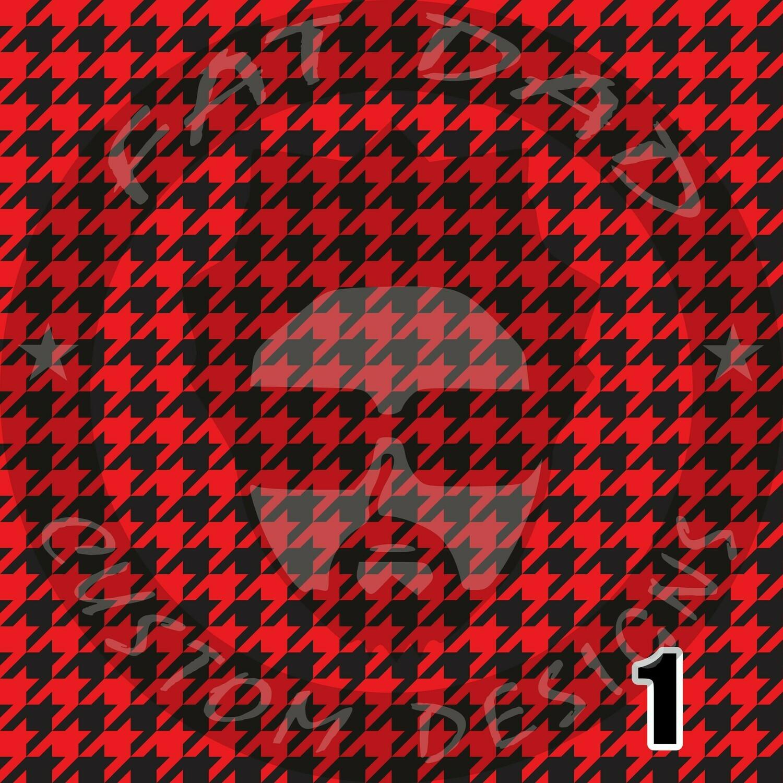 Houndstooth Theme Printed Heat Transfer Vinyl (HTV)
