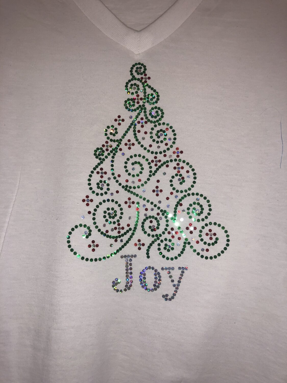 Joy Tree Spangle Transfer