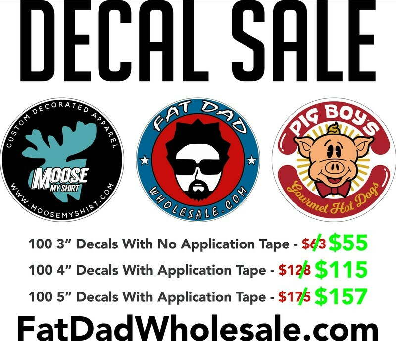 DECAL SALE