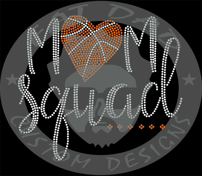 Mom Squad Spangle Transfer