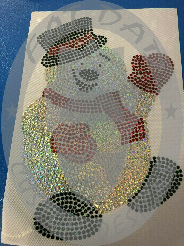 Snowman Spangle Transfer
