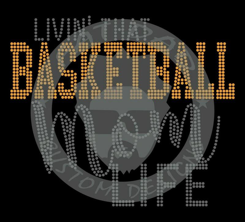 Livin' That Basketball Mom Life Spangle Transfer