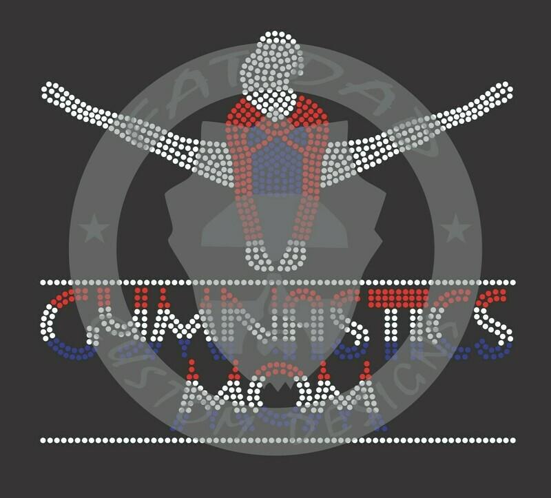 Gymnastics Mom Spangle Transfer