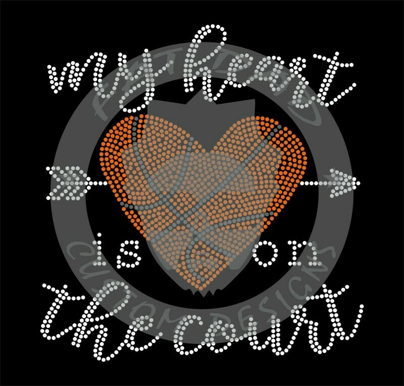 My Heart Is On The Court Spangle Transfer