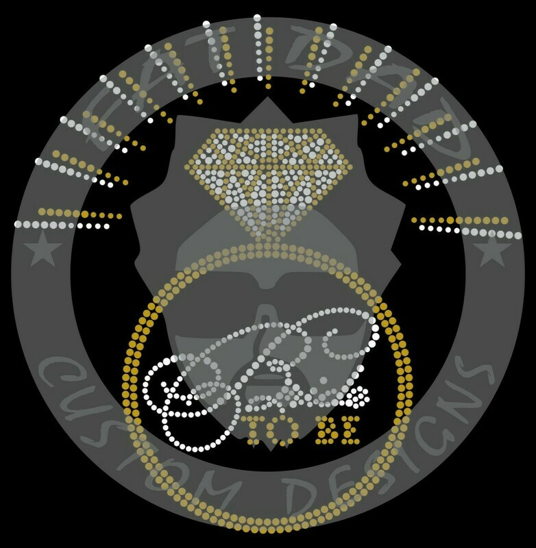 Bride To Be Ring Spangle Transfer