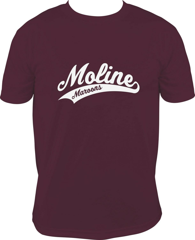 Moline Script Logo Shirt