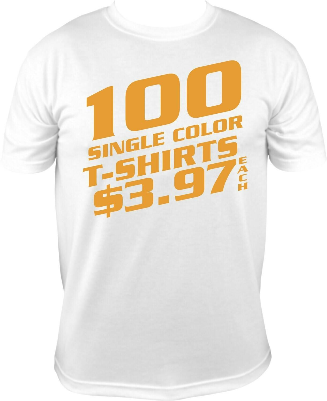 100 WHITE SHIRT SPECIAL