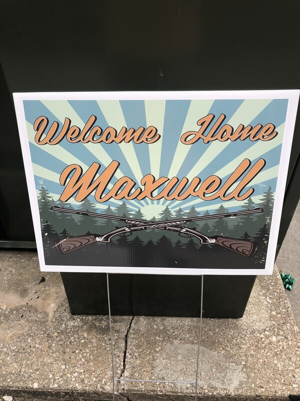 """18"""" x 24"""" 4mm Yard Signs with Stakes"""