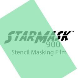 "StarMask 900 Adhesive Stencil Film - 12"" x 12"" Sheet"