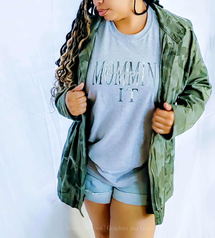 Military MomminIt t-shirt