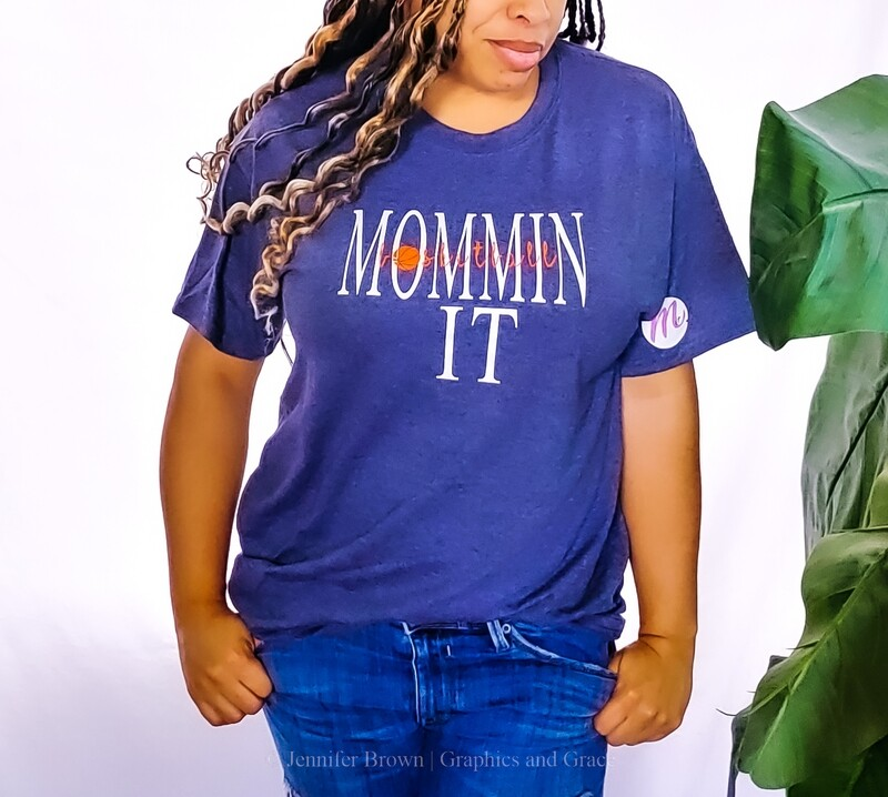 Basketball MomminIt t-shirt