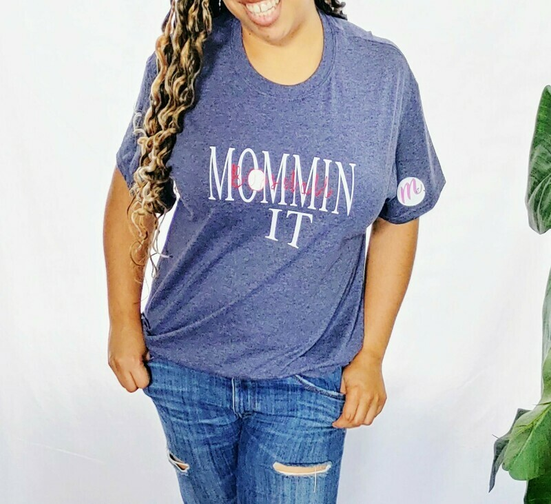 Baseball MomminIt t-shirt