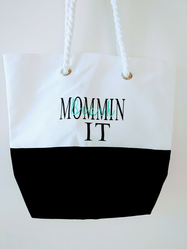 Beach MomminIt tote