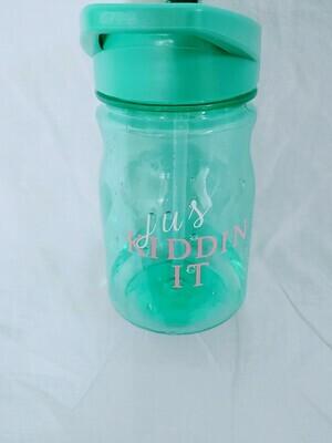 Jus Kiddin It water bottle