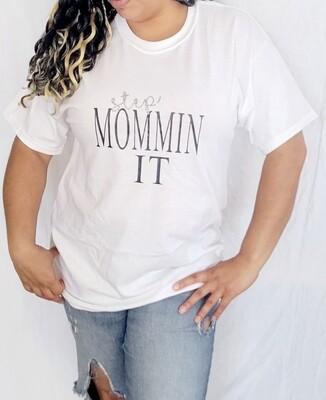 Step MomminIt t-shirt