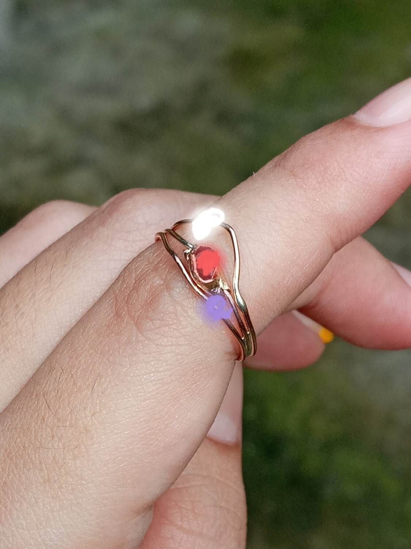 CUSTOM Triple Chrysalis Ring taniainprivate