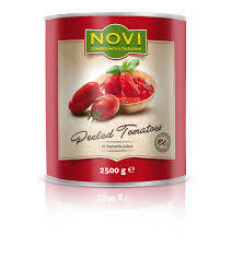 6x2.5kg NOVI ITALIAN PEELED TOMATOES
