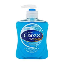 6x250ml Carex Dermacare Antibacterial Hand Wash Liquid Soap