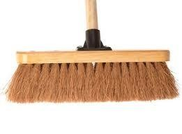IND SOFT BROOM HEAD AND HANDLE