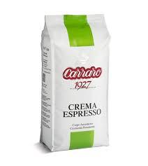 6x1kg CARRARO CREMA ESPRESSO COFFEE BEANS
