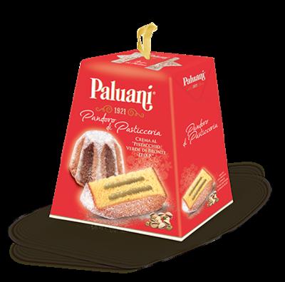 PALUANI PANDORO CREMA PISTACCHIO - 750gr
