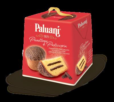 PALUANI PANETTONE WITH CHOCOLATE CREAM - 750gr