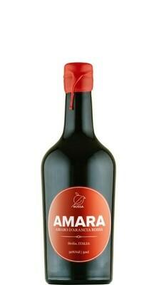 AMARA - AMARO D`ARANCIA ROSSA Spirit, ABV 30%, Sicilia 0,75L