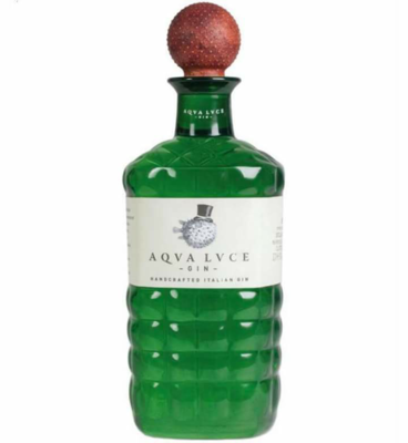 70cl AQUALUCE DRY GIN Spirit, ABV 47%, Veneto