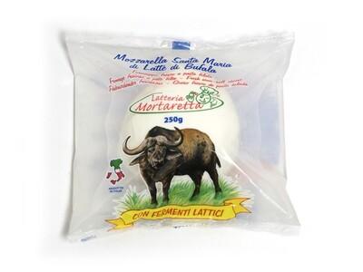 250gr MOZZARELLA DI BUFALA - buffalo milk mozzarella