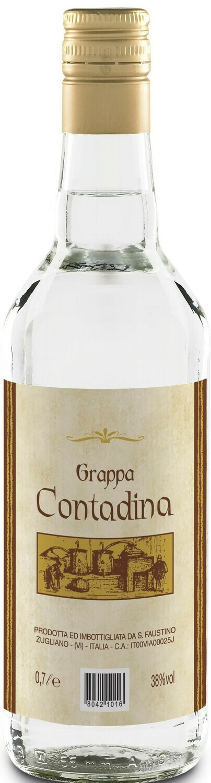 70cl GRAPPA CONTADINO Spirit, ABV 38%, Veneto