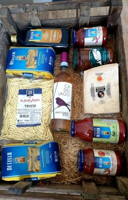 PASTA AND SAUCE KIT - BUILD YOUR OWN ( contains 10 items see description for more details )