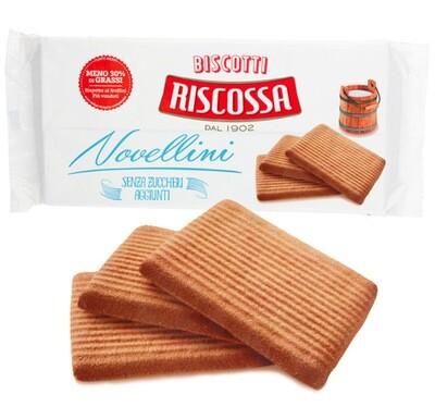 350gr RISCOSSA BISCOTTI NOVELLINO - SUGAR FREE BBE 04/21