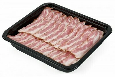 COOKED STREAKY BACON - 1kg
