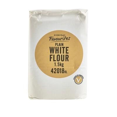 PLAIN WHITE FLOUR - 6x1.5kg