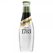 SCHWEPPES 1783 CUCUMBER TONIC - Schweppes 12x200ml BEST BEFORE END 11/20