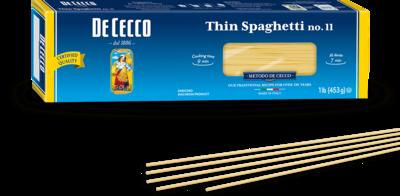 DE CECCO SPAGHETTINI no.11 - 500gr