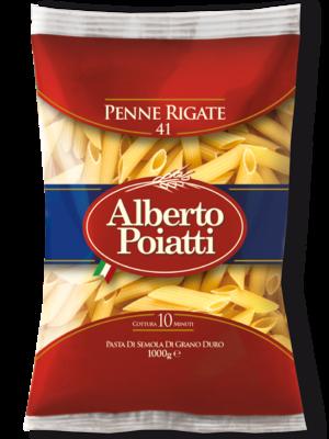 DRIED PASTA PENNE RIGATE - Alberto Poiatti - 12x1kg