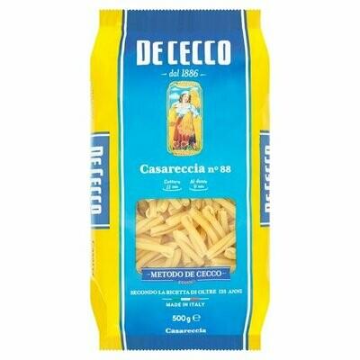 500g DE CECCO CASARECCIA no.88